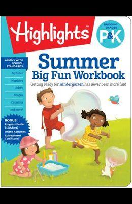 Summer Big Fun Workbook Bridging Grades P & K