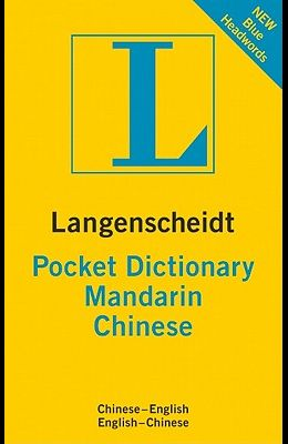 Langenscheidt Pocket Mandarin Chinese Dictionary