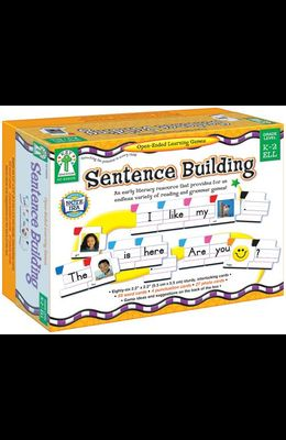 Sentence Building: An Early Literacy Resource That Provides for an Endless Variety of Reading and Grammar Games!