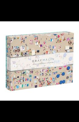 Gray Malin the Beach Two-Sided Puzzle
