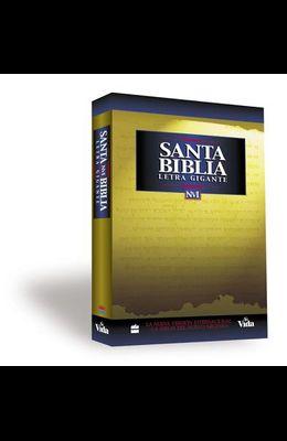 NVI Santa Biblia Letra Gigante = Giant Print Bible-NIV