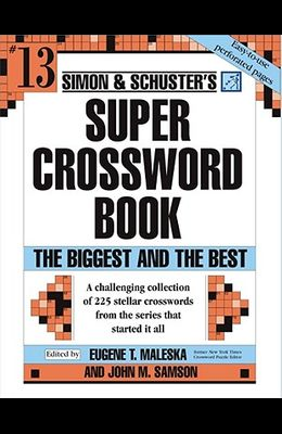 Simon & Schuster's Super Crossword Book Series 13