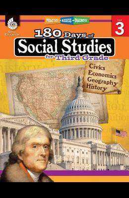 180 Days of Social Studies for Third Grade: Practice, Assess, Diagnose