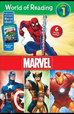 World of Reading Marvel Boxed Set: Level 1 -
