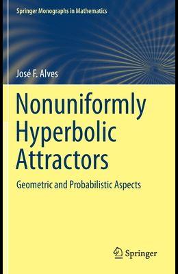 Nonuniformly Hyperbolic Attractors: Geometric and Probabilistic Aspects