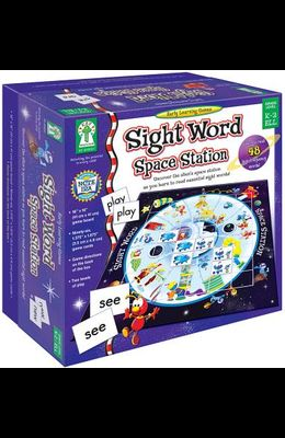 Sight Word Space Station: Uncover the Alien's Space Station as You Learn to Read Essential Sight Words!
