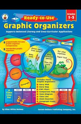 Ready-To-Use Graphic Organizers, Grades 1 - 5: Supports Balanced Literacy and Cross-Curricular Applications