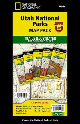 Utah National Parks [Map Pack Bundle]