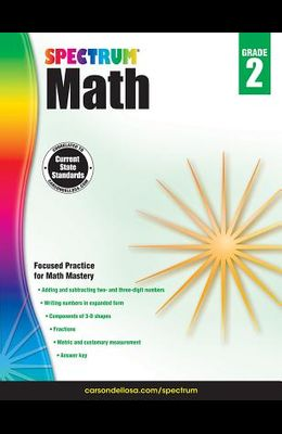 Spectrum Math Workbook, Grade 2