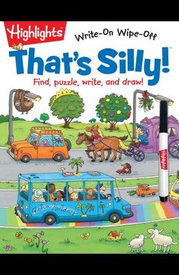 That's Silly!(tm): Find, Puzzle, Write, and Draw!