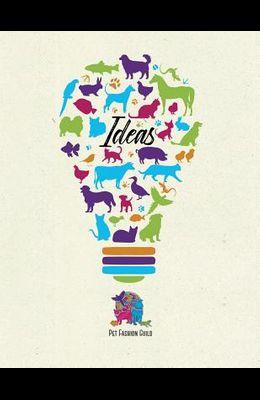 Pet Fashion Guild Sketch Book: Idea Book