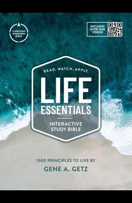 CSB Life Essentials Study Bible, Hardcover W/Jacket