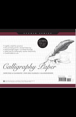 Studio Series Calligraphy Pape