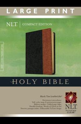 Large Print Compact Bible-NLT