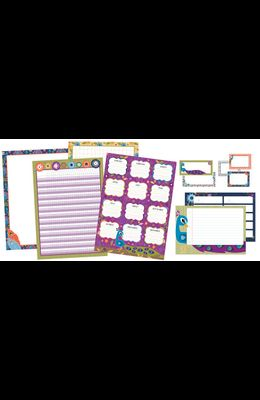 You-Nique Classroom Organizers Chart Set