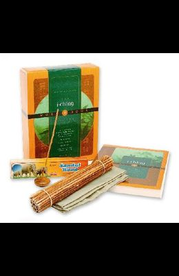 The I Ching Workbook Gift Set [With Workbook and Incense, Holder, 50 Yarrow Stalks, Cloth]