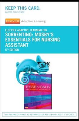 Elsevier Adaptive Learning for Mosby's Essentials for Nursing Assistants (Access Card)