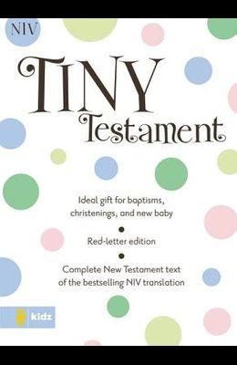 Tiny Testament Bible-NIV