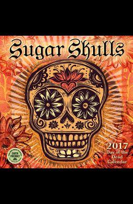 Sugar Skulls 2017 Mini Calendar: 2017 Day of the Dead Calendar