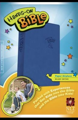 Hands-On Bible-NLT-Paper Airplane