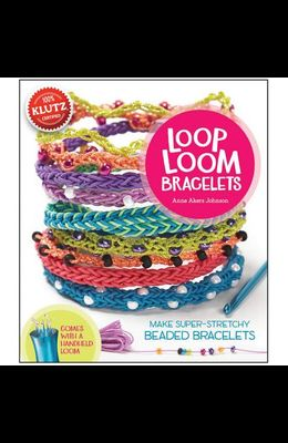 Loop Loom Bracelets: Make Super-Stretchy Beaded Bracelets [With Instruction Book and 34 Yds of Cord, Loop Loom Tool, Crochet Hook and 350 Beads and 3