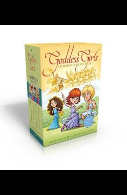 The Goddess Girls Charming Collection Books 9-12 (Charm Bracelet Included!): Pandora the Curious; Pheme the Gossip; Persephone the Daring; Cassandra t