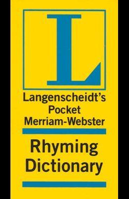 Merriam-Webster Pocket Rhyming Dictionary (Pockets Full of Word Power)