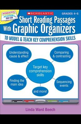 Interactive Whiteboard Activities: Short Reading Passages with Graphic Organizers to Model and Teach Key Comprehension Skills [With CDROM]