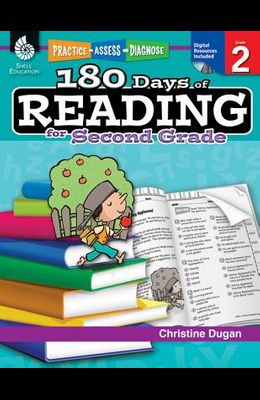 180 Days of Reading for Second Grade (Grade 2): Practice, Assess, Diagnose