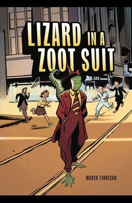 Lizard in a Zoot Suit
