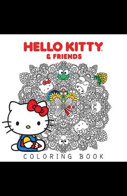 Hello Kitty & Friends Coloring Book