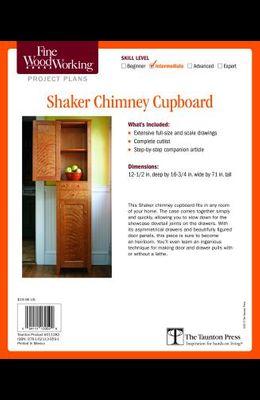 Fine Woodworking's Shaker Chimney Cupboard Plan
