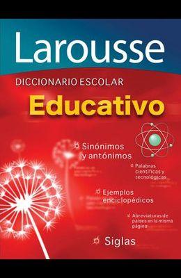 Diccionario Escolar Educativo