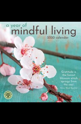 Year of Mindful Living 2020 Wall Calendar