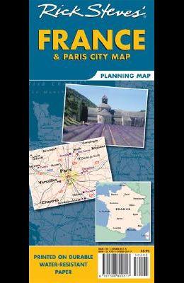 Rick Steves France & Paris Planning Map
