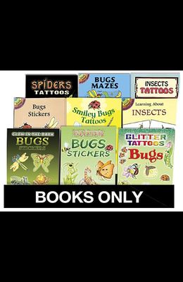 Little ACT Bk Bugs Replen Pack 135 Bks