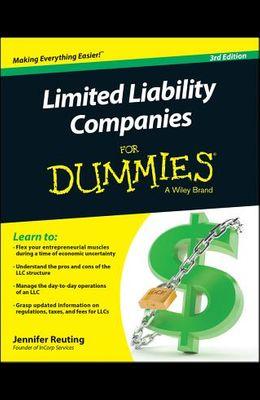 Limited Liability Companies for Dummies, 3/E