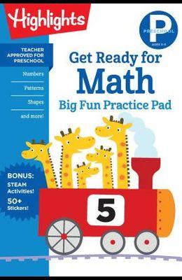 Preschool Get Ready for Math Big Fun Practice Pad
