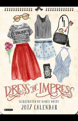 2017 Dress to Impress Poster Calendar
