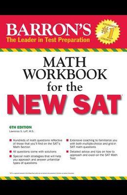 Barron's Math Workbook for the NEW SAT, 6th E