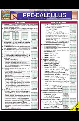 Pre-Calculus Laminated Reference Guide