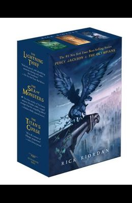 Percy Jackson and the Olympians Paperback Box