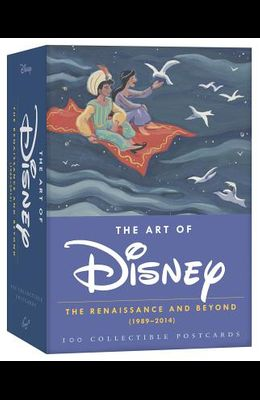 The Art of Disney: The Renaissance and Beyond (1989 - 2014) 100 Collectible Postcards (Disney Postcards, Cute Postcards for Mailing, Fun