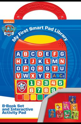 Nickelodeon Paw Patrol: My First Smart Pad Library: 8-Book Set and Interactive Activity Pad
