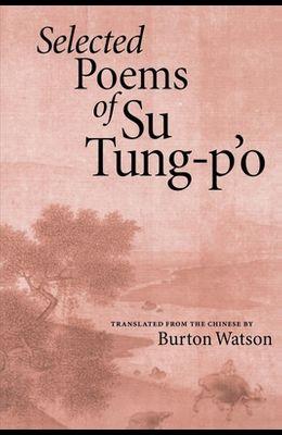 Selected Poems of Su Tung-P'o