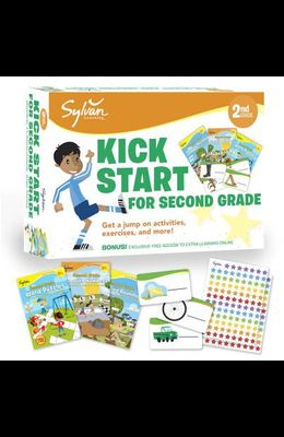 Sylvan Kick Start for Second Grade: Get a Jump on Activities, Exercises, and More!