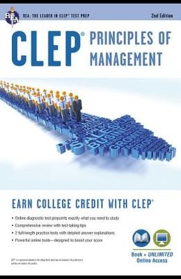 Clep(r) Principles of Management Book + Online