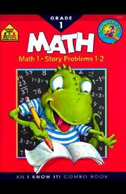 School Zone Math Basics Grade 1 Workbook