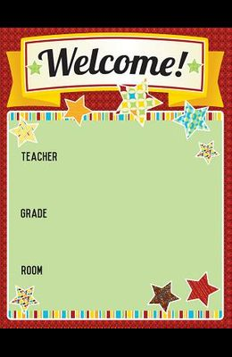 Hipster Welcome Chart