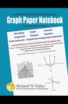 Graph Paper Notebook - Algebra: Great for All Algebra Classes
